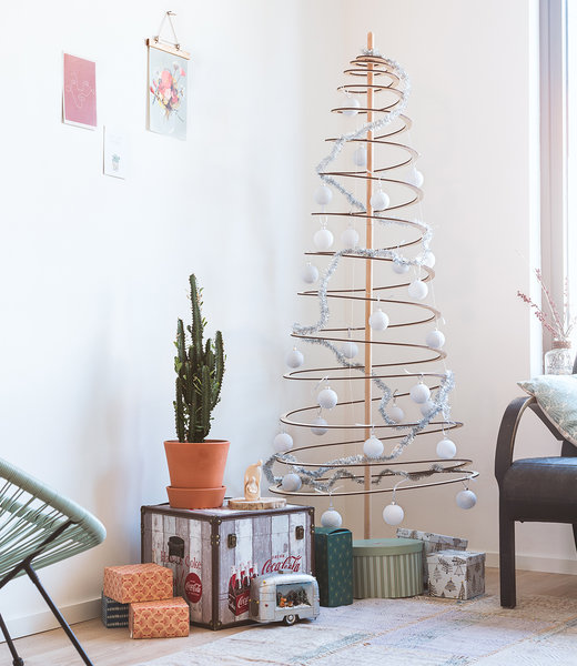COTTON BALL LIGHTS Inspiratie | Kerst | Sparkling White Silver Christmas Cotton Ball