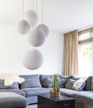 COTTON BALL LIGHTS FünffachHängelampe - White