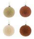COTTON BALL LIGHTS  Kerstmis Cotton Balls - Cosy Copper