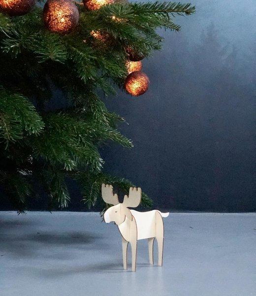 COTTON BALL LIGHTS Inspiration | Christmas | Regular Lichterkette Black (@b_binnen)