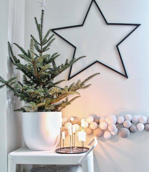 COTTON BALL LIGHTS Inspiratie   Kerst   Mix & Match lichtslinger (@wonen_bij_chantal)