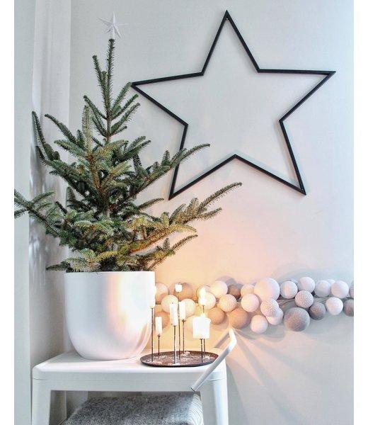 COTTON BALL LIGHTS Inspiration | Christmas | Mix & Match Lichterkette (@wonen_bij_chantal)