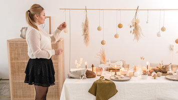 Set up your Christmas table with Danielle of @ellefotografie