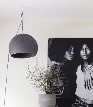 COTTON BALL LIGHTS Hanglamp Driekwart - Mid Grey