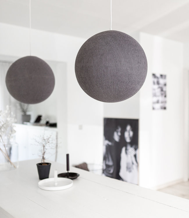 COTTON BALL LIGHTS Hanglamp - Mid Grey