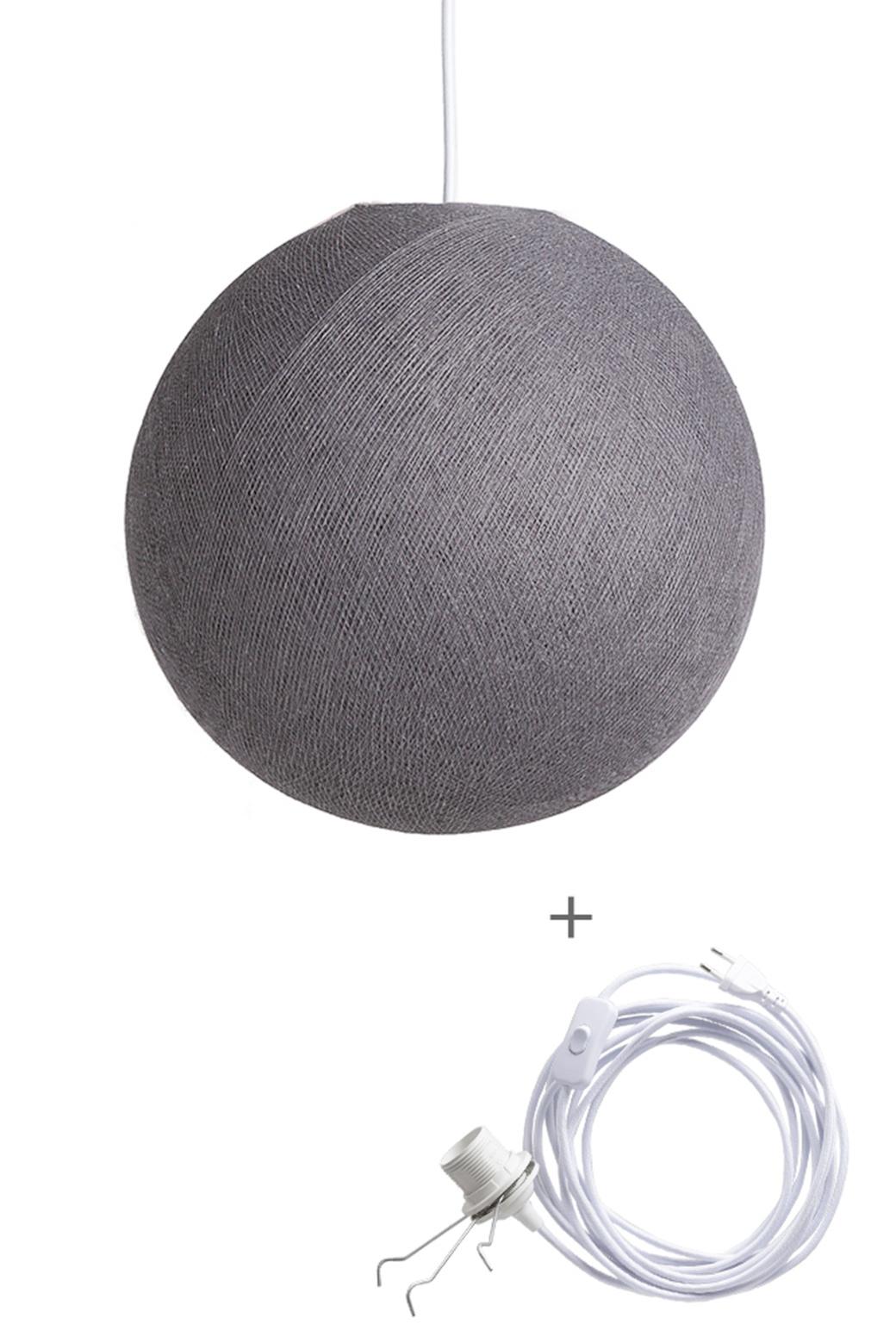 Cotton Ball Lights wandering hanglamp grijs - Mid Grey