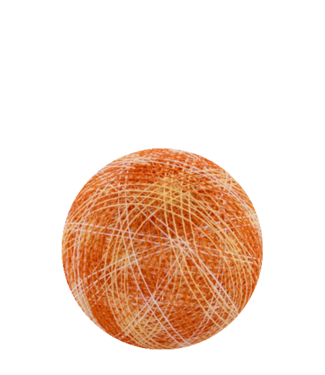 COTTON BALL LIGHTS Indoor Mix Orange