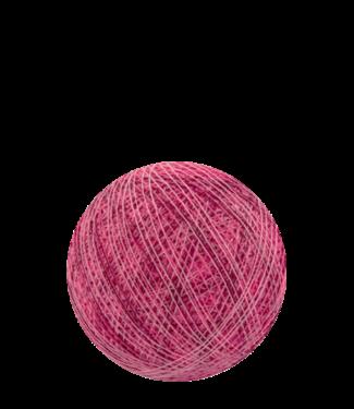 COTTON BALL LIGHTS Indoor Mix Pink