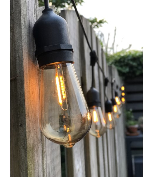 Inspiratie | Buiten | Patio lichtslingers Premium  @zebranostyling