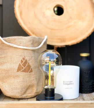 LEDR Outdoor Table Lamp Jute