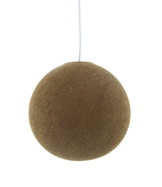 COTTON BALL LIGHTS Hanging lamp - Caffe Latte