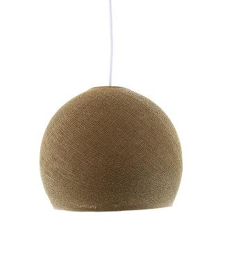COTTON BALL LIGHTS Hanglamp Driekwart - Caffe Latte