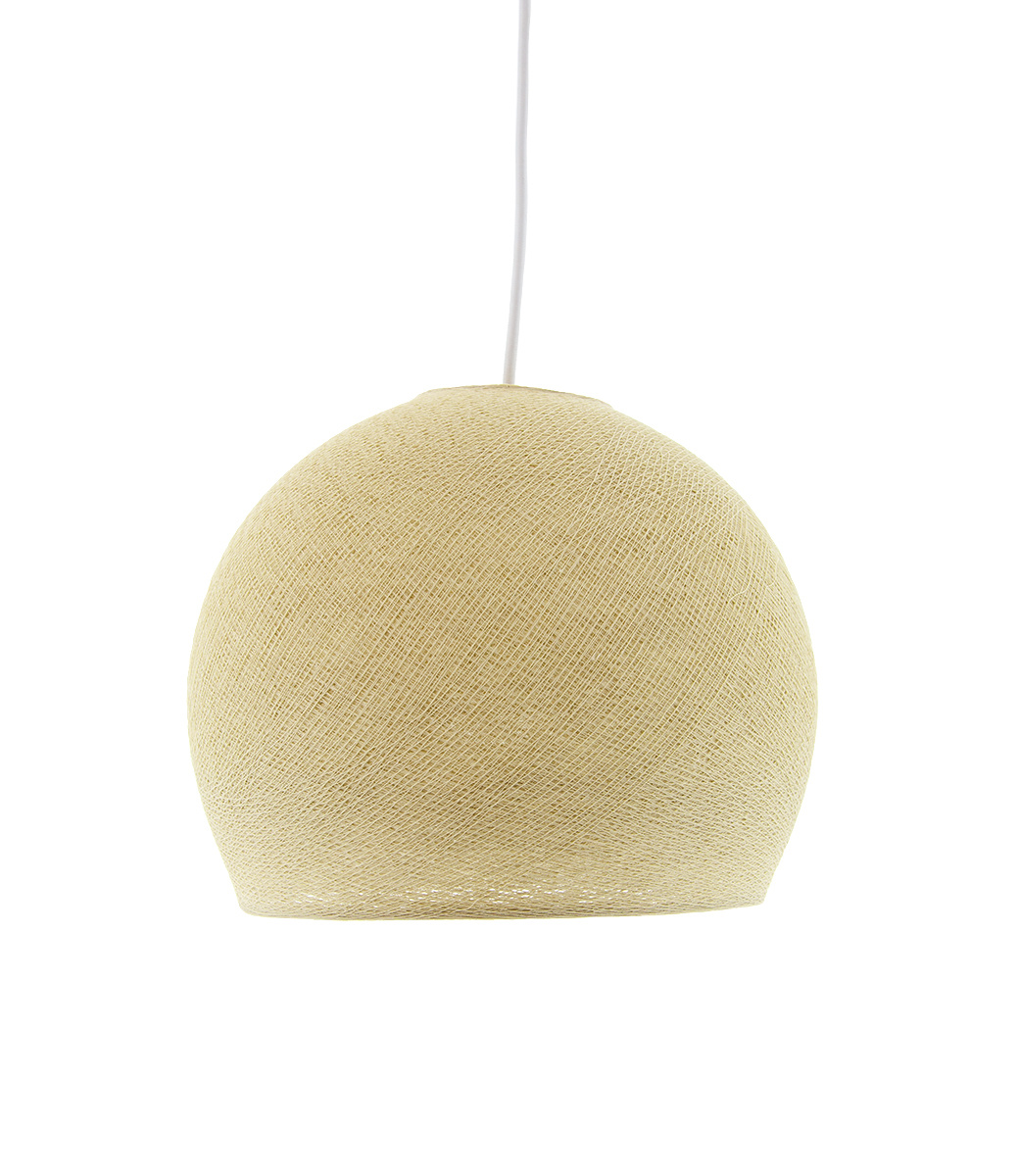 Hanglamp Driekwart - Cream
