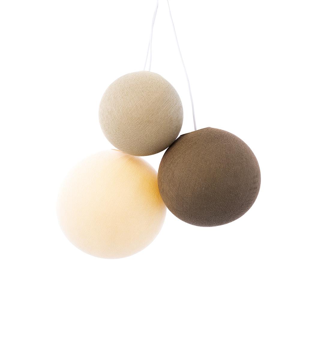 Drievoudige hanglamp 1 punt - Calme Sense