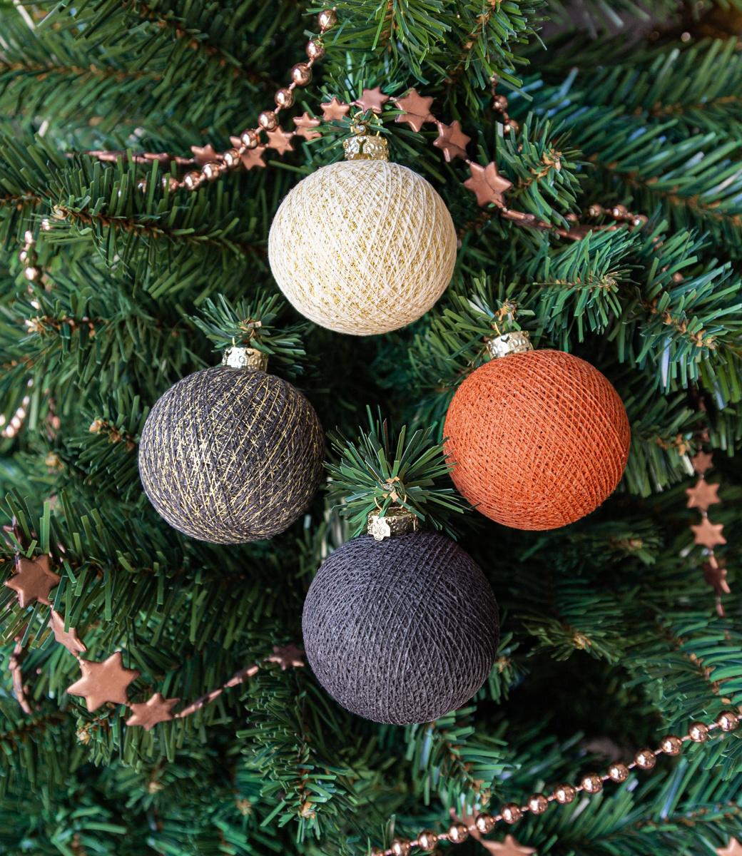 Cotton Ball Lights kerstballen - Antra Chic
