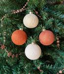 COTTON BALL LIGHTS Cotton Ball Lights kerstballen koper - Cosy Copper