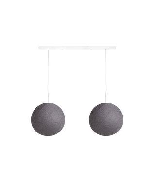 COTTON BALL LIGHTS Pendelleuchte (am Balken) - Mid Grey