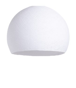 COTTON BALL LIGHTS White - Three Quarter