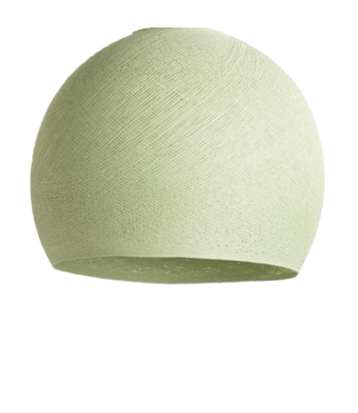 COTTON BALL LIGHTS Powder Green - Three Quarter