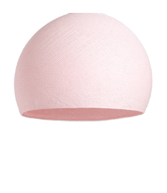 COTTON BALL LIGHTS Light Pink - Three Quarter