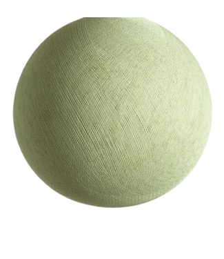 COTTON BALL LIGHTS Powder Green - Full Round