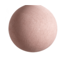 COTTON BALL LIGHTS Pale Pink - Full Round
