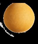 COTTON BALL LIGHTS Mustard - Full Round