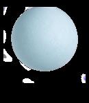 COTTON BALL LIGHTS Light Aqua - Full Round