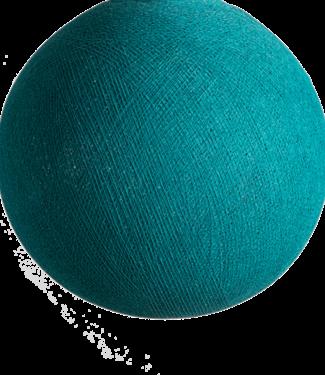 COTTON BALL LIGHTS Heavy Aqua - Full Round