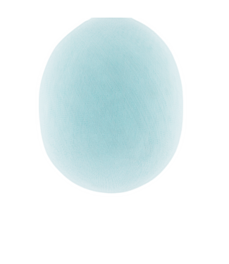 COTTON BALL LIGHTS Light Aqua - Oval