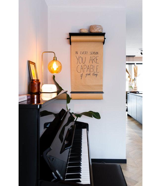 LEDR Inspiratie | Keuken | Kraft Paper Roller L