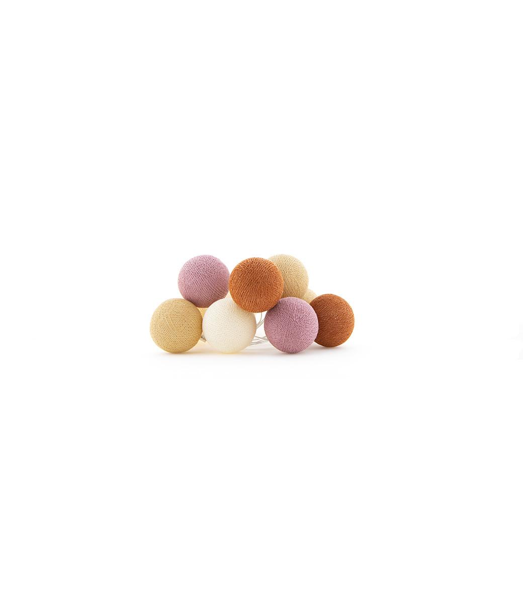 Cotton Ball Lights Regular Lichtslinger - Rusty