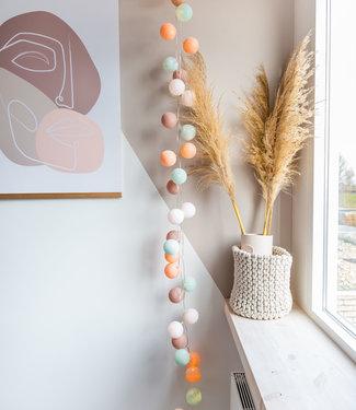 COTTON BALL LIGHTS Regular Lichtslinger - Macaron