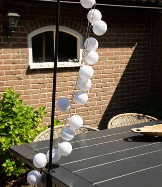 COTTON BALL LIGHTS Enkelvoudige tafelklem zwart
