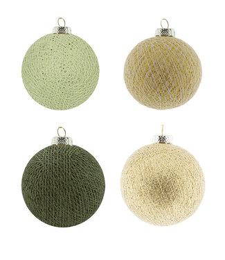 COTTON BALL LIGHTS Weihnachts Cotton Balls - Wild Glam