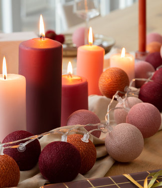 COTTON BALL LIGHTS Sparkling Lichterkette - Bohemian Spice