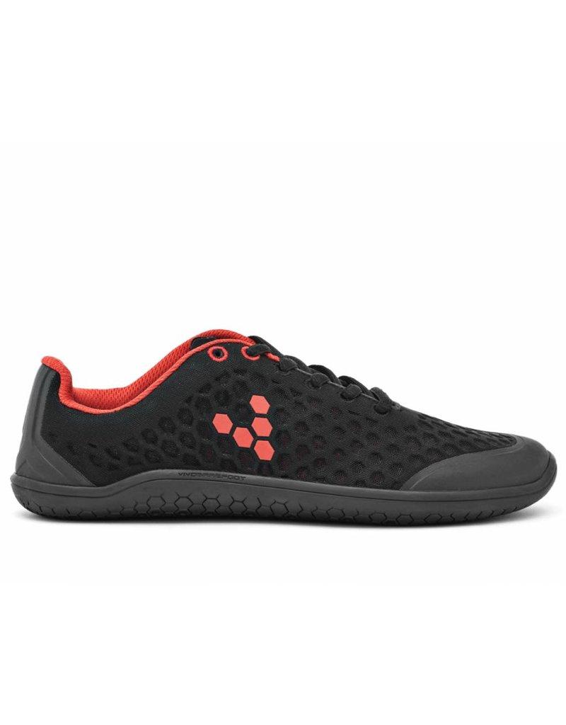 Vivobarefoot Stealth M Black/Red