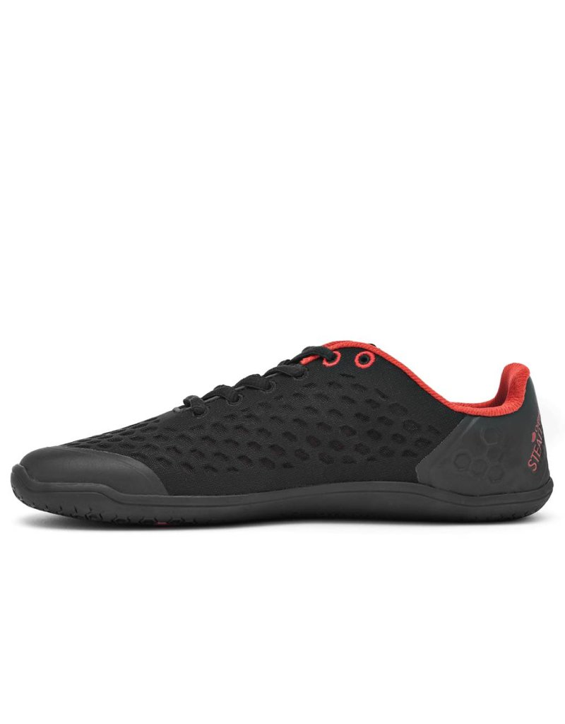 Vivobarefoot Stealth L Black/Red
