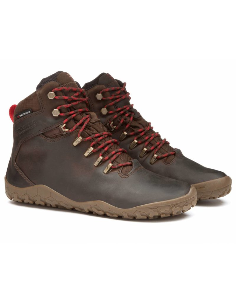 Vivobarefoot Tracker L - Brown Leather