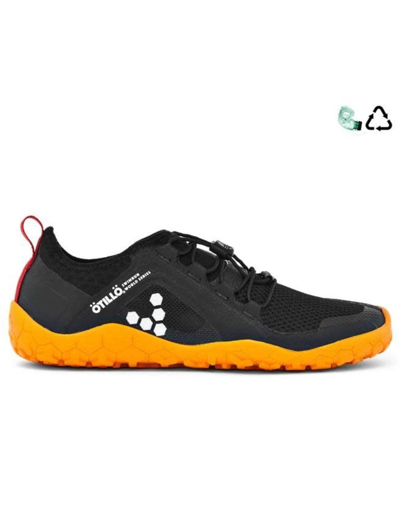 Vivobarefoot Primus Trail Swimrun FG L - Black/Orange