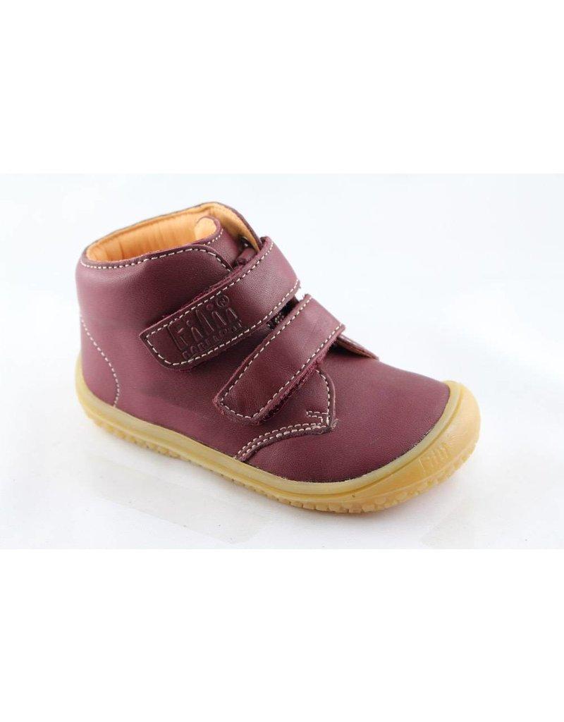 Filii Barefoot Bio Soft Feet Velcro Nappa - Berry