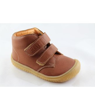Filii Barefoot Bio Soft Feet Velcro - Cognac
