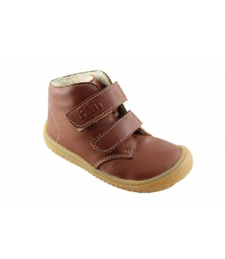 Filii Barefoot Bio Soft Feet Nappa Wool Cognac