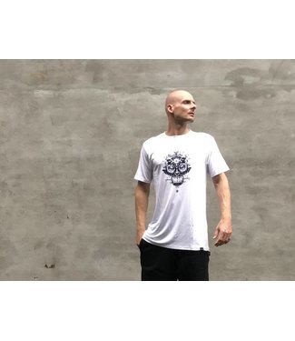 StreetMovement Water Skull 2.0 White/Dark Blue