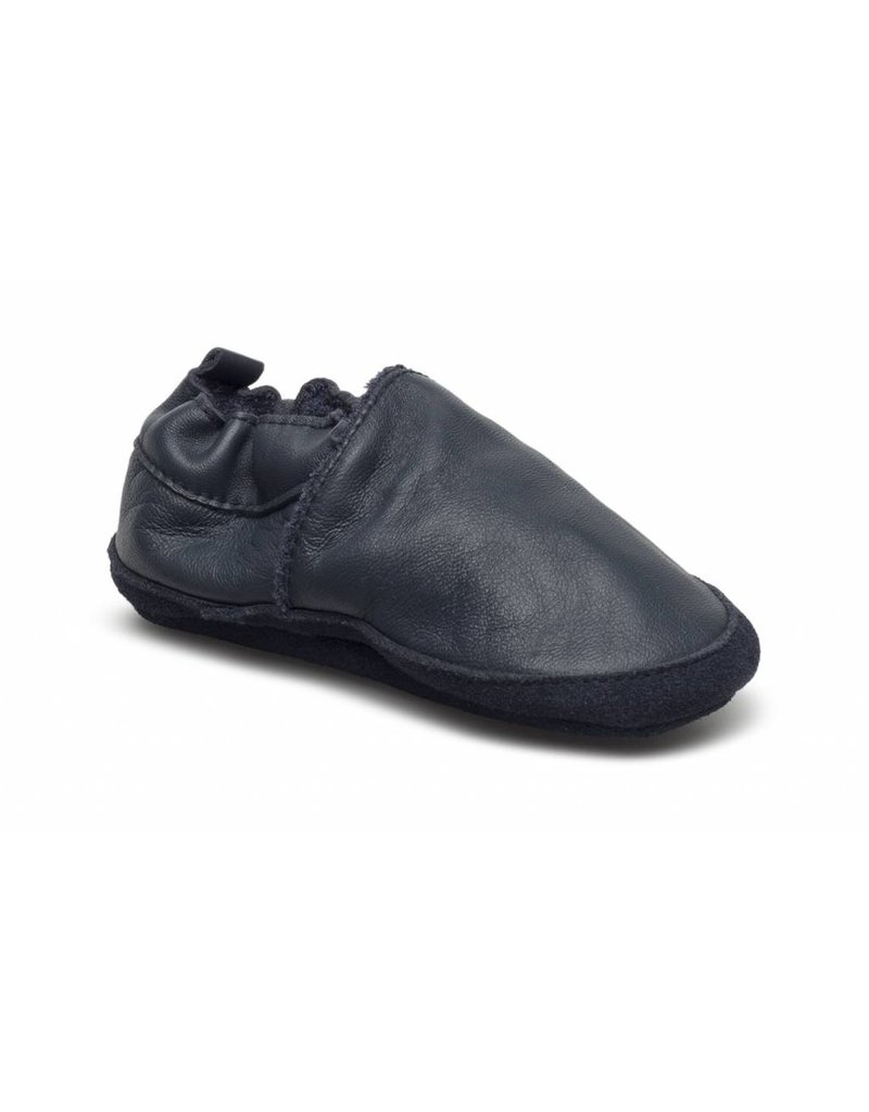 Move By Melton Leather Loafer Blue