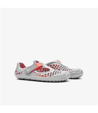 Vivobarefoot Ultra K Grey/Neon Orange