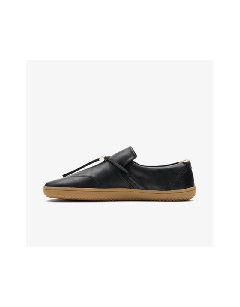 Vivobarefoot RA Slip On L Black Leather