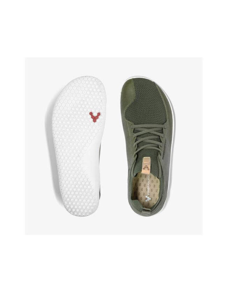 Vivobarefoot Primus Knit L Dusty Olive