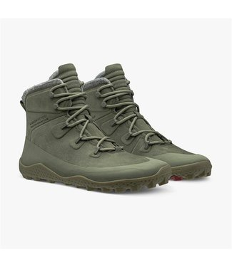 Vivobarefoot Tracker Snow M - Olive Green
