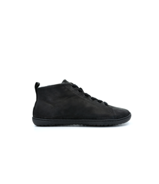 Muki Shoes Raw Leather Black